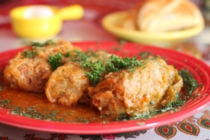 Cabbage Rolls Love Cafe