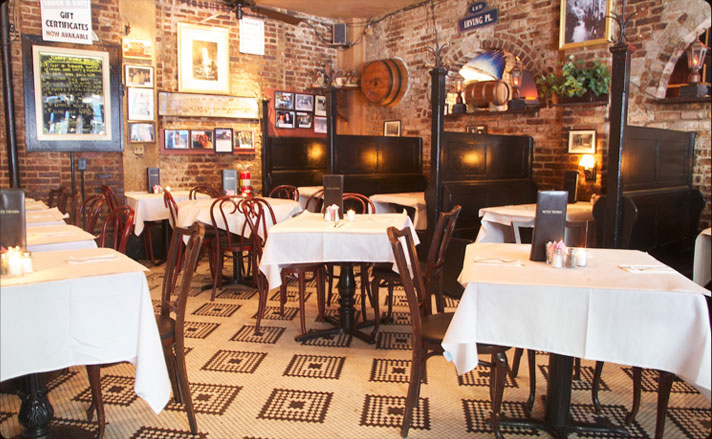 Inside Pete's Tavern Restaurant Review