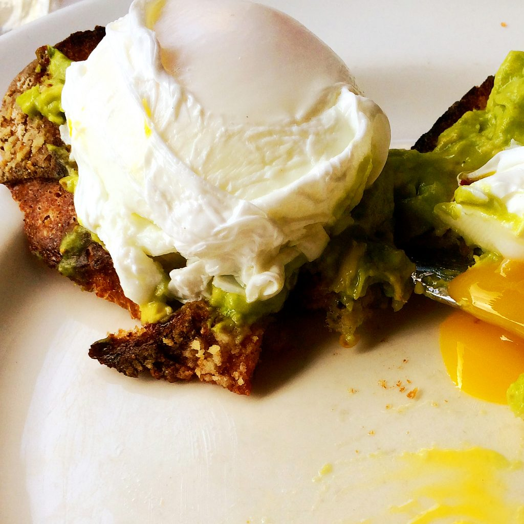 Avocado Toast and Poached Egg Goodness