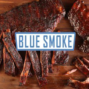ribs blue smoke