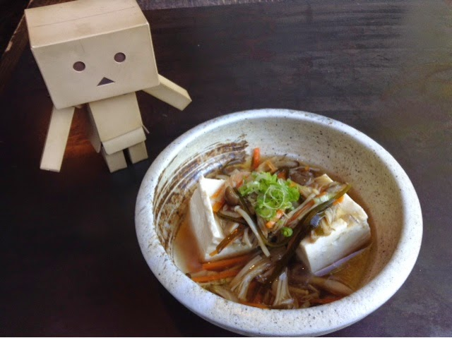 Obanzai tofu special - photo courtesy of Hibino LIC