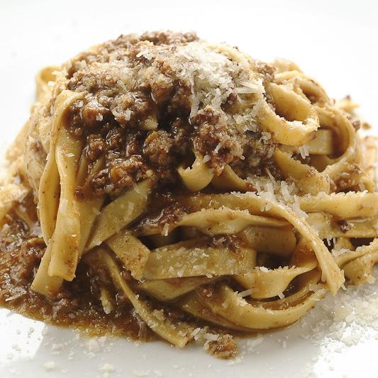 Fettucine Alla Bolognese. Photo courtesy of Bocca Di Bacco
